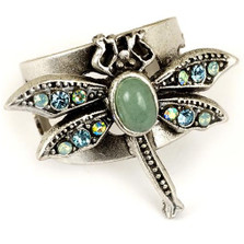 Dragonfly Oval Cabochon  Ring | La Contessa Jewelry | Mary DeMarco | RG9324AQ