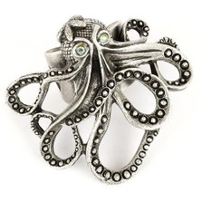 Octopus Ring | La Contessa Jewelry | Mary DeMarco | RG9340