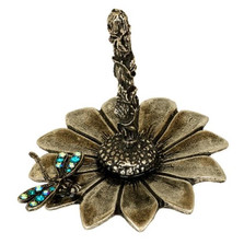 Dragonfly Ring Stand | La Contessa Jewelry | Mary DeMarco | LCRS6910