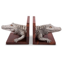 Alligator Bookends | Vagabond House | VHCJ771A