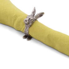 Rabbit Napkin Rings Set of Four | Vagabond House | G115RT