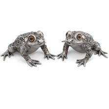 Toad Salt Pepper Shakers | Vagabond House | G116TD