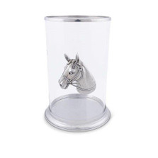Horse Head Pillar Candle Holder | Vagabond House | H102HL