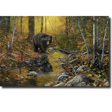 "Bear Print ""Last Days of Autumn"" 