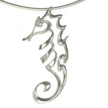 Seahorse Pendant Necklace | Big Blue Jewelry | Roland St.John | SHSS-18