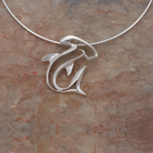 Hammerhead Shark Seaplicity Necklace | Big Blue Jewelry | HHSS-18