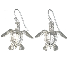 Sea Turtle Earrings | Big Blue Jewelry | Roland St. John | SSE07D