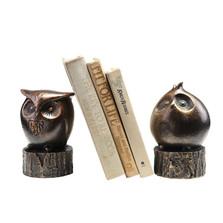 Wide-Eyed Owl Bookends | 50692 | SPI Home