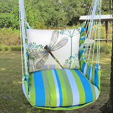 "Dragonfly Hammock Chair Swing ""Beach Boulevard"" 
