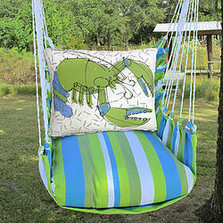 "Lobster Hammock Chair Swing ""Beach Boulevard"" 