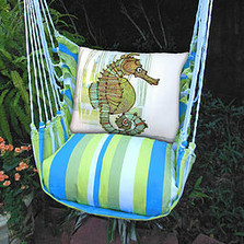 "Seahorse Hammock Chair Swing ""Beach Boulevard"" 