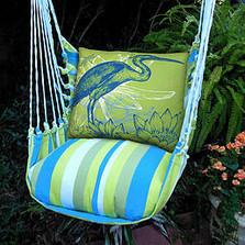 "Blue Heron Hammock Chair Swing ""Beach Boulevard"" | Magnolia Casual | BBLHHG-SP -2"