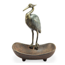 Heron Soap Dish | 33922 | SPI Home