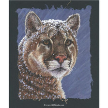 "Cougar Print ""Snow King"" 