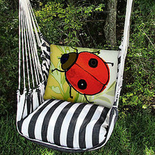 "Ladybug Hammock Chair Swing ""True Black"" 