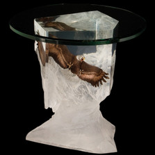 "Eagle End Table ""Between Earth and Sky"" 