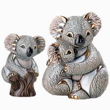 Koala and Baby Ceramic Figurine Set | De Rosa | Rinconada | F152-F352