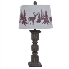 Deer Table Lamp | Crestview Collection | CVAVP456