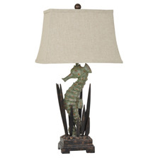 Seahorse Table Lamp | Crestview Collection | CVAVP322