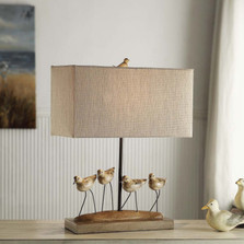 Shorebirds Table Lamp | Crestview Collection | CVAVP384