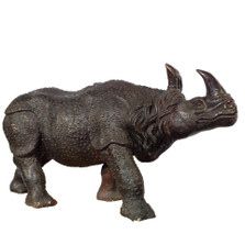 Rhinoceros Bronze Outdoor Statue | Metropolitan Galleries | SRB15038