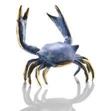 Blue Crab Figurine | 80191 | SPI Home
