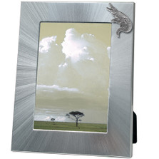 Alligator 5x7 Photo Frame | Heritage Pewter | HPIFR3161LG