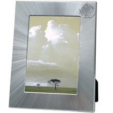 Aspen Leaf 5x7 Photo Frame | Heritage Pewter | HPIFR3055LG