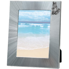 Black Bear 5x7 Photo Frame | Heritage Pewter | HPIFR710LG