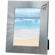 Dolphin 5x7 Photo Frame | Heritage Pewter | HPIFR735LG