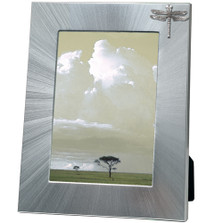 Dragonfly 5x7 Photo Frame | Heritage Pewter | HPIFR3123LG
