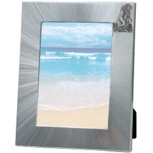 Grizzly Bear 5x7 Photo Frame | Heritage Pewter | HPIFR705LG