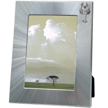 Lobster 5x7 Photo Frame | Heritage Pewter | HPIFR3109LG