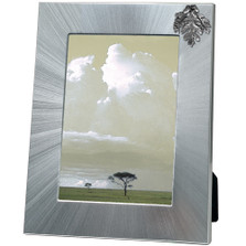 Oak Leaf 5x7 Photo Frame | Heritage Pewter | HPIFR3149LG