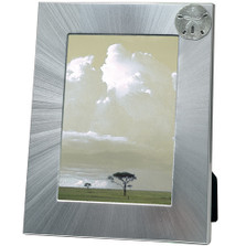 Sand Dollar 5x7 Photo Frame | Heritage Pewter | HPIFR3041LG