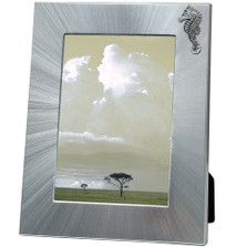 Seahorse 5x7 Photo Frame | Heritage Pewter | HPIFR3126LG