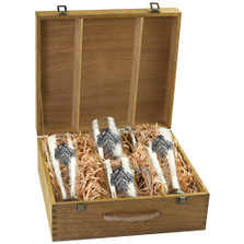 Oak Leaf Beer Glass Boxed Set | Heritage Pewter | HPIBSB4136