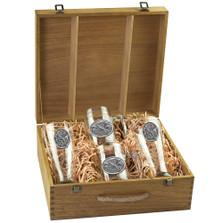 Pheasant Bird Beer Glass Boxed Set | Heritage Pewter | HPIBSB123
