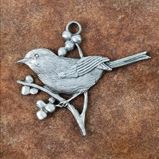 Chickadee Pewter Ornament | Andy Schumann | SCHMC122156