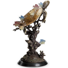 "Sea Turtle Sculpture ""Ocean Voyagers"" 