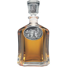 Black Bear Capitol Decanter | Heritage Pewter | HPICPT113