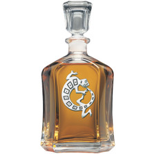 Lizard Capitol Decanter | Heritage Pewter | HPICPT4054