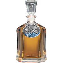 Pintail Duck Capitol Decanter | Heritage Pewter | HPICPT125EB