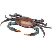 Bluepoint Crab Sculpture | 30514 | SPI Home