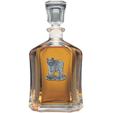 Tiger Capitol Decanter | Heritage Pewter | HPICPT3986