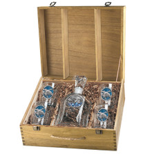Pintail Duck Decanter Boxed Set | Heritage Pewter | HPICPTB125EB