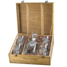 Rhino Capitol Decanter Boxed Set | Heritage Pewter | HPICPTB136
