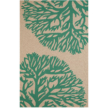 "Coral Indoor Outdoor Area Rug ""Coral Gables"" 