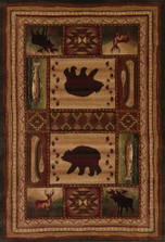 Bear Wilderness Area Rug | United Weavers | 511-28059-5x7