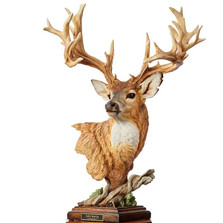 "Whitetail Deer Sculpture ""Noble Bearing"" | Mill Creek Studios | 6567523865"